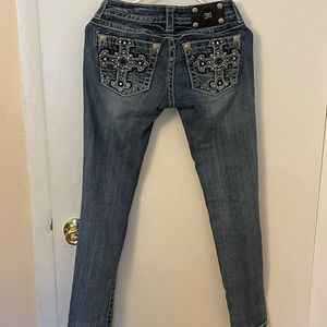Miss Me Jeans Skinny style JP589953 Size 26